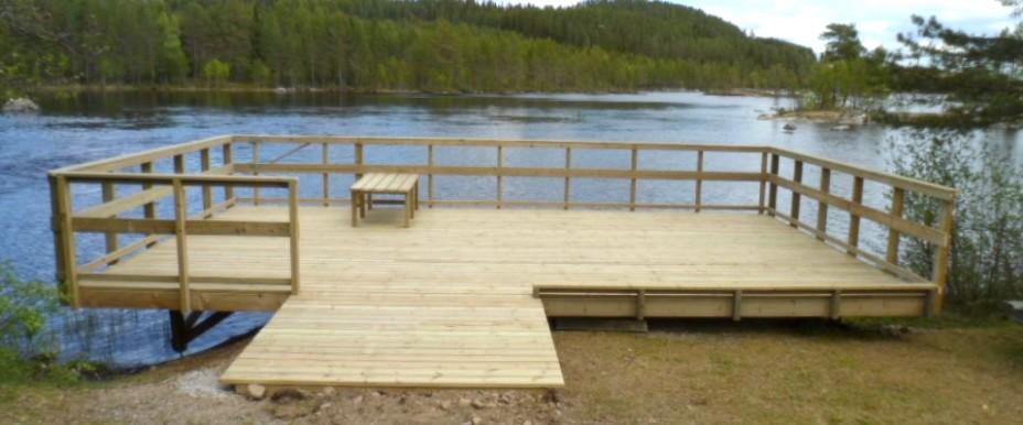 Tillgängligt fiske hos Bodsjö fvo. Foto Camilla Dahlberg