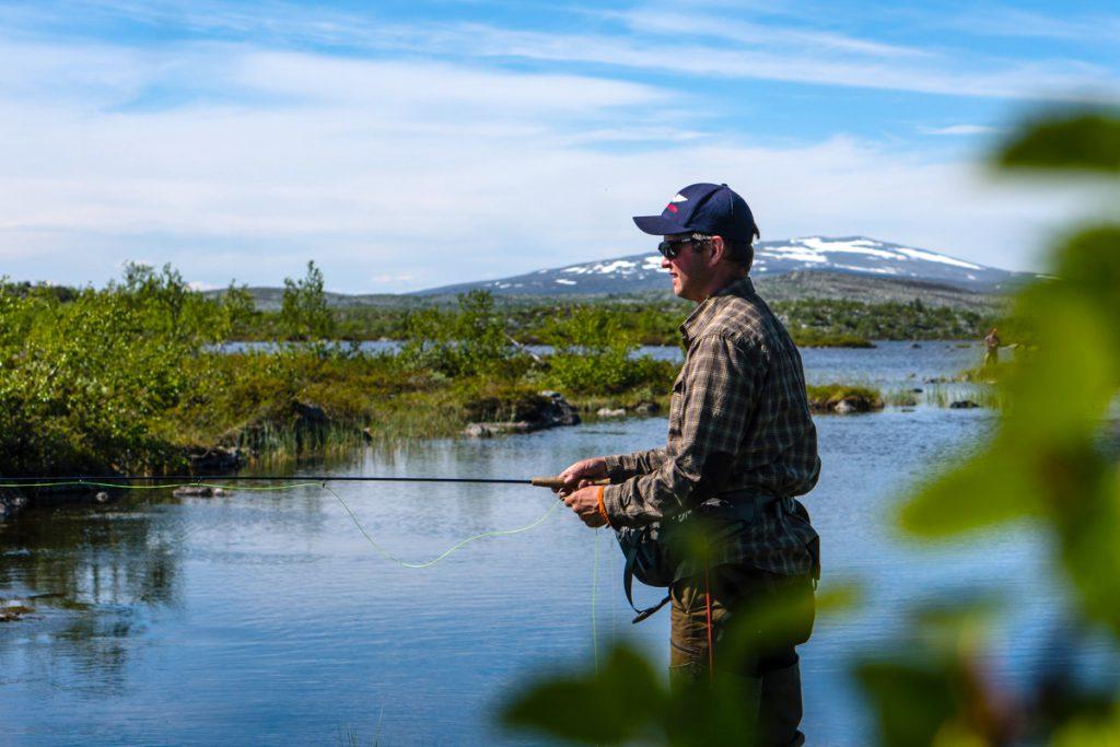 Ett sportfiskeäventyr med Strapatser i Funäsdalen. Foto Jon Wagenius