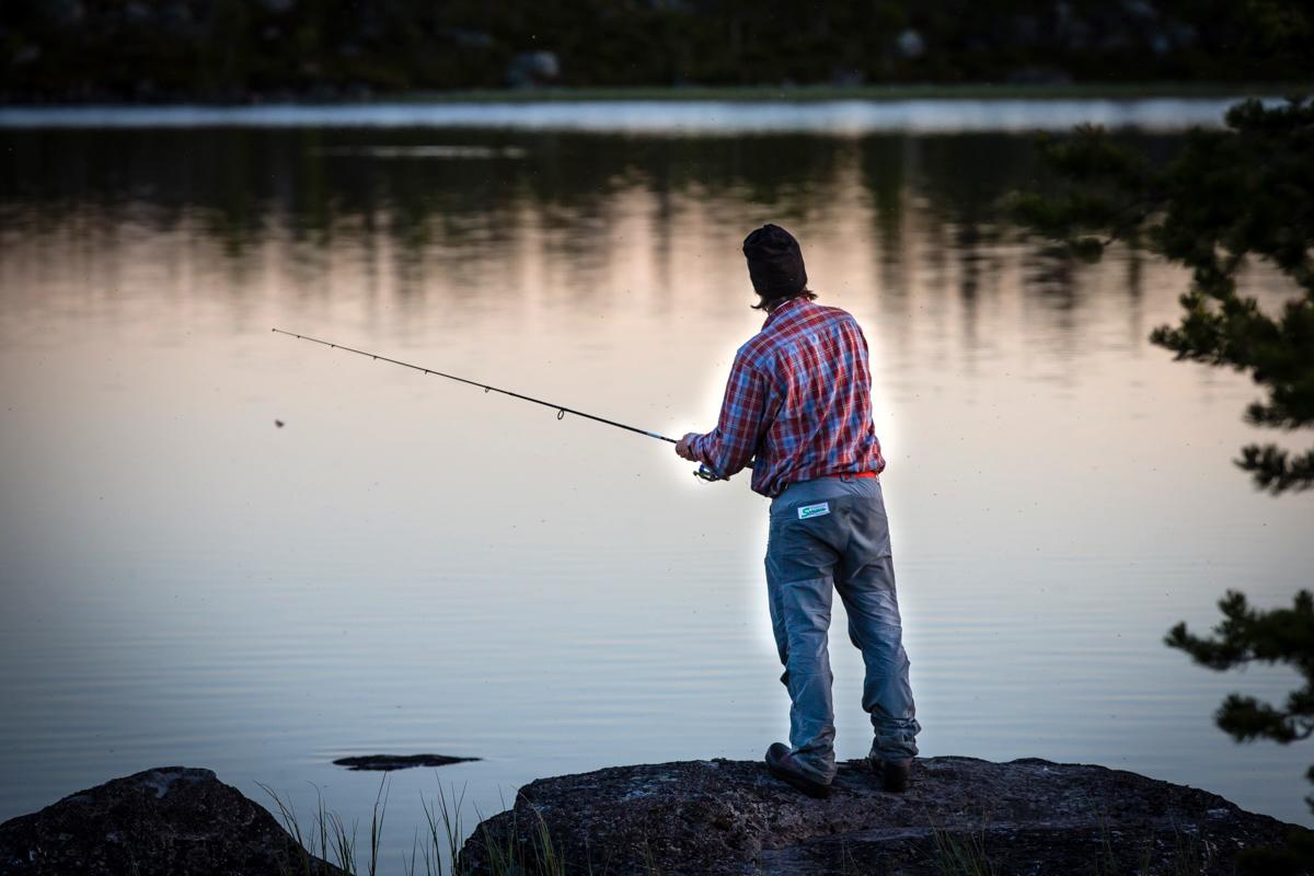 Fisketur med Strapatser i Funäsdalen. Foto Jon Wagenius