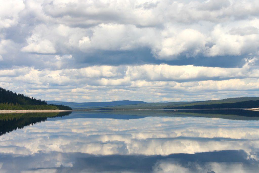 Grundsjön, Långåfiskets innanhav. Foto Långå fvo