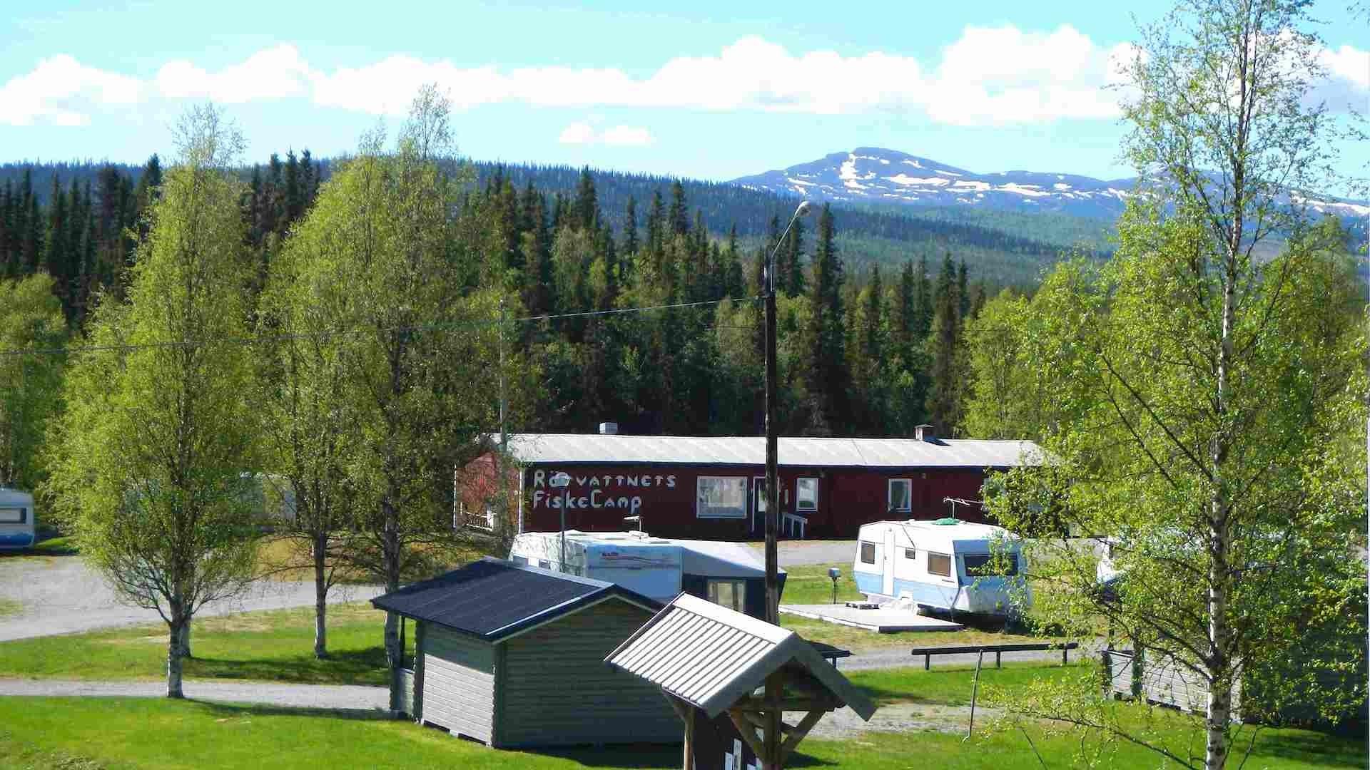 Foto Rörvattnets Fiskecamp