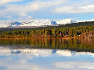 Vackra vyer. Foto Storsjö Fiskecamp