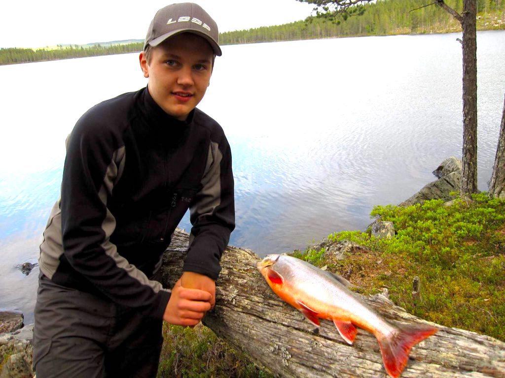 Fin röding från Valsjöns fvo. Foto Urban Dimberg