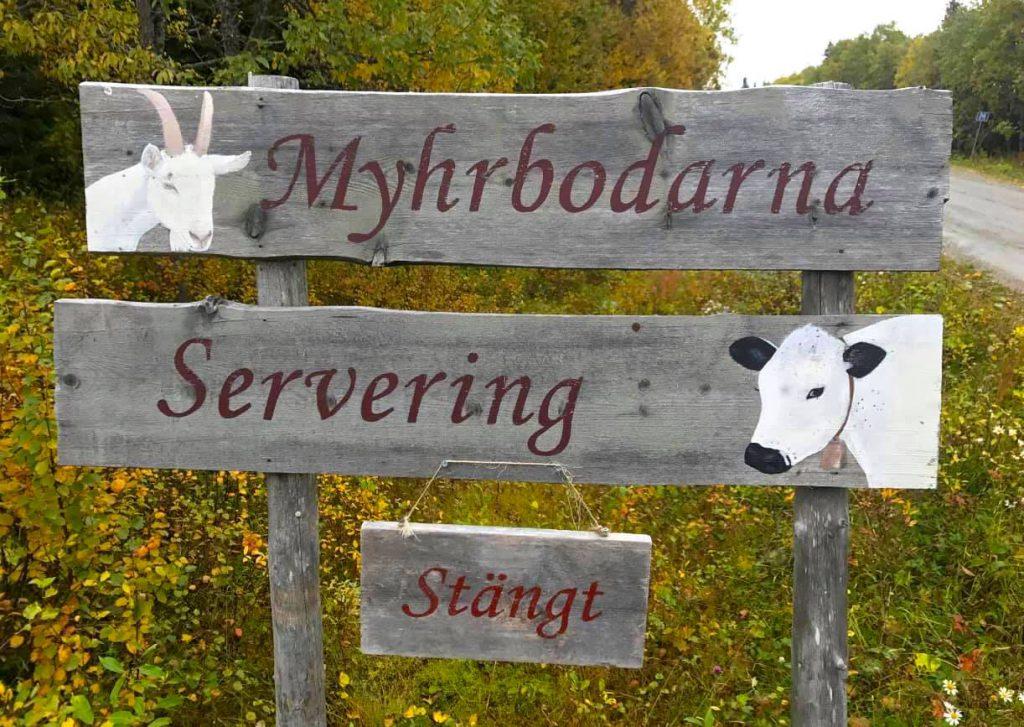 Välkommen till Myhrbodarna. Foto Myhrbodarna