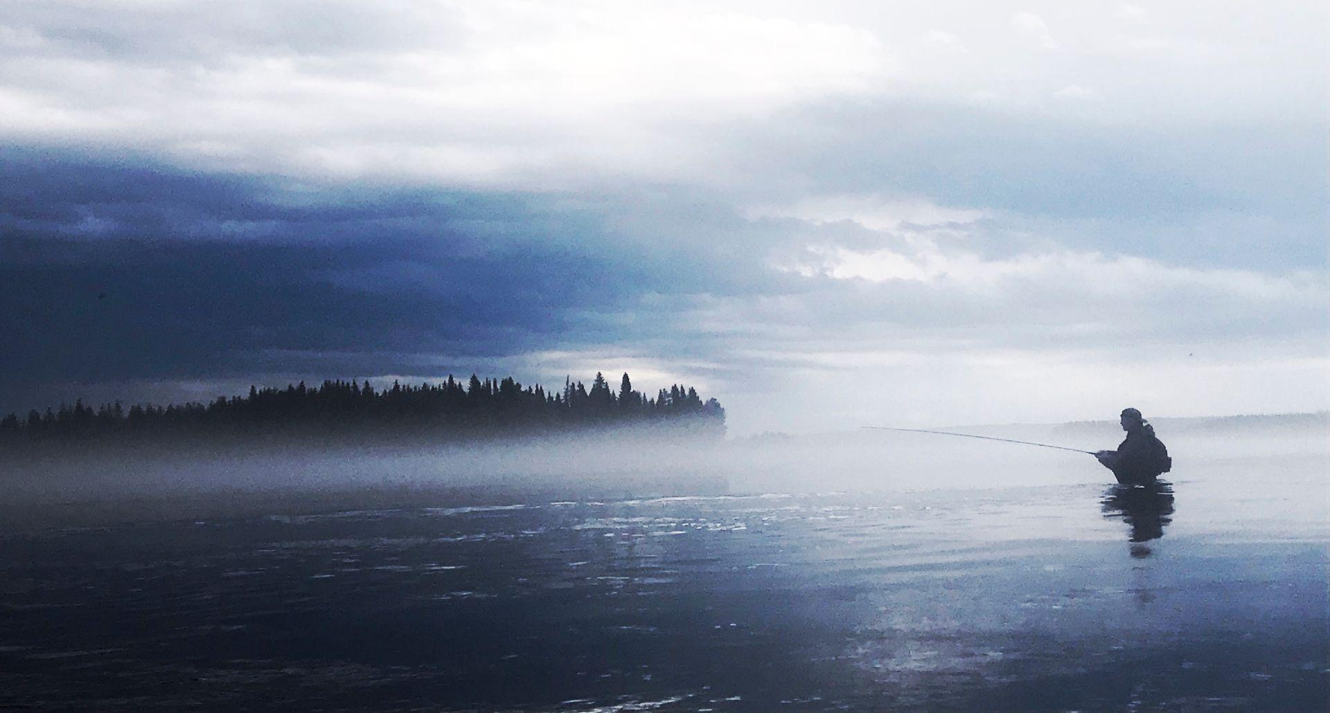 En förtrollad stund i Drömfiskeland Foto Anders Lundin